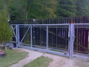 Stavby Hladík - posuvná brána