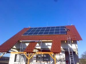 Domácí sluneční elektrárna